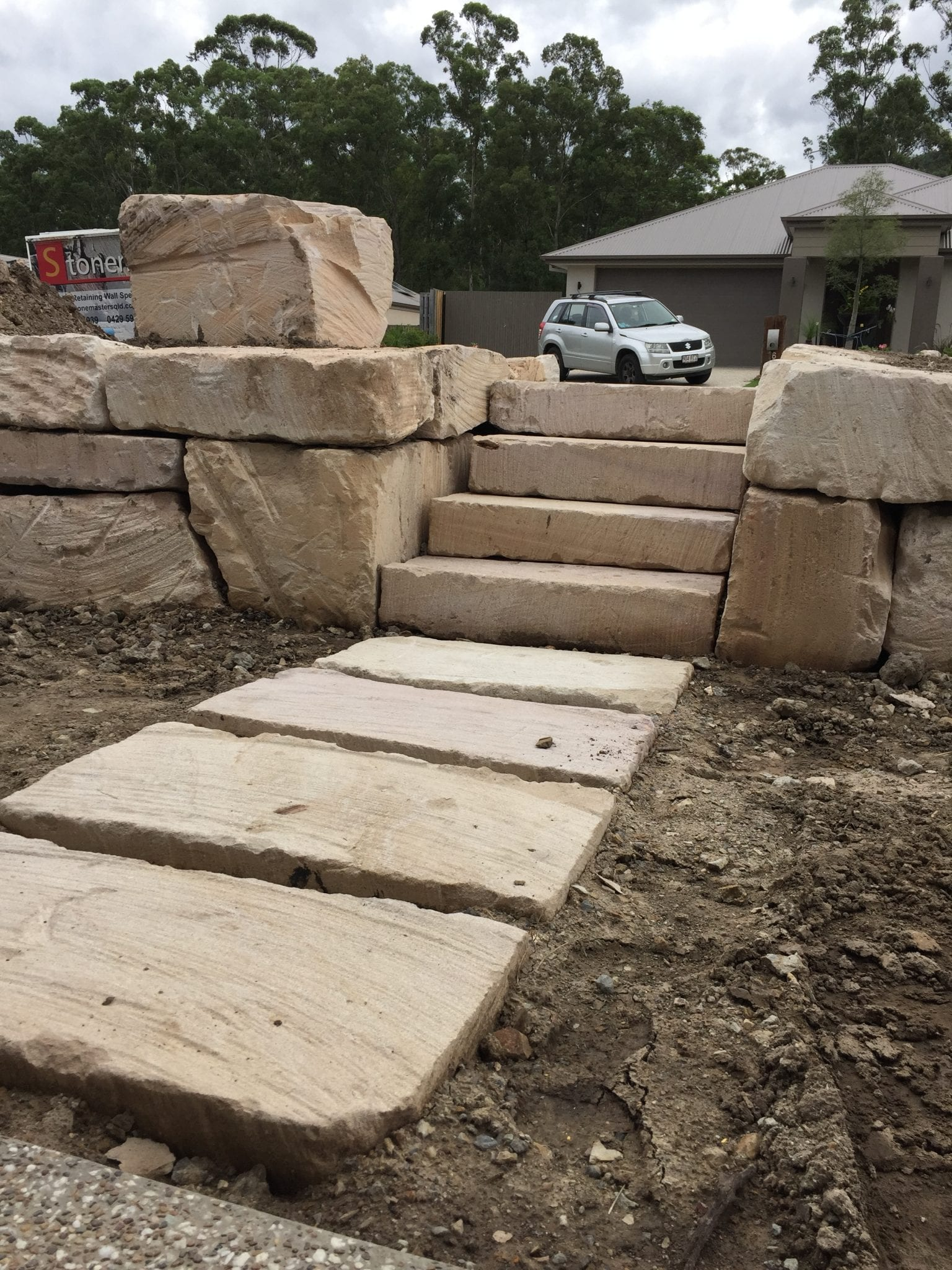 RS Steps & Stepping Stones